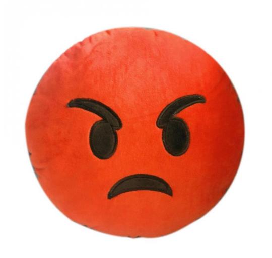 Декоративные подушки Смайл Улыбочка Emoji 30 см. Подушка смайлик