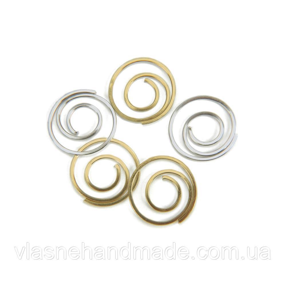 Скріпки - Gold & Silver - Creative Impressions СРІБНІ! Ціна за 1 шт.