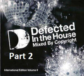 CD-диск Copyright - Defected In The House (Part 2)