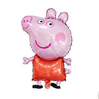 """Мини шарик фольгированный """"Свинка Пеппа"""" Размер: 42см*26см. Пр-во:Китай"""