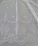 Гардинная ткань с вышивкой 240474 sedef
