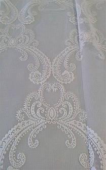 Гардинная ткань с вышивкой AY 02