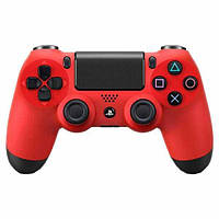 Игровой манипулятор (джойстик) PS4 SONY беспроводной Красный