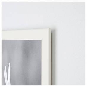 ФИСКБУ Рама, белый, 13x18 см 90295663 ИКЕА, IKEA, FISKBO, фото 2