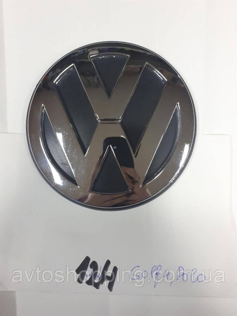 Эмблема значок в багажник, Volkswagen VW POLO, Golf 4 , 120 мм