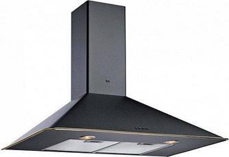 """Кухонная вытяжка Teka DOS 90.1 (Rustica), черный, кант """"латунь"""""""