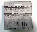 Велосипедний світлодіодний ліхтар задній 0023 (2хАА), фото 7
