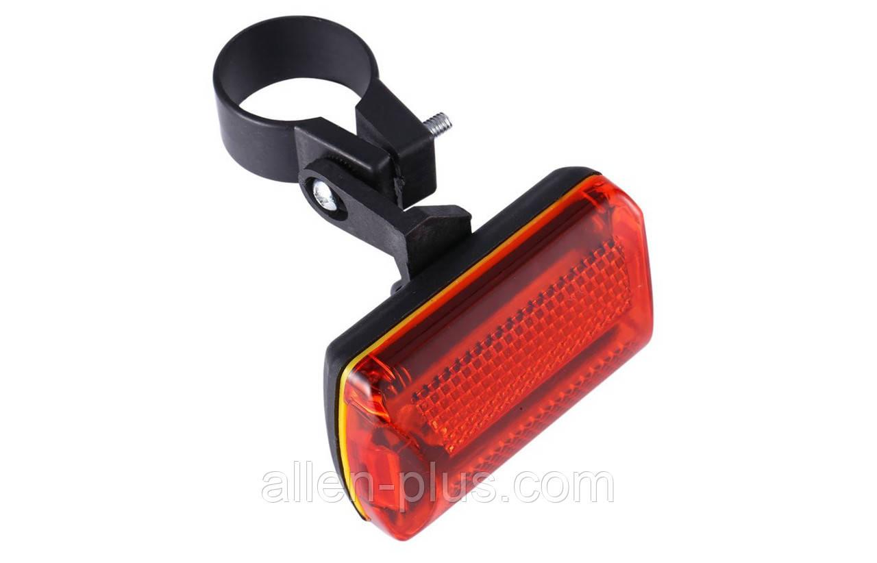 Велосипедний світлодіодний ліхтар задній 0023 (2хАА)