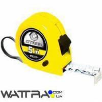Рулетка измерительная СТАЛЬ 5м х 19мм (22103) пластиковый корпус 3 стопа