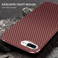 Чехол для Iphone 6 Plus 6s Plus, стиль карбон