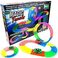 Светящийся гоночный трек Magic Tracks 366 деталей