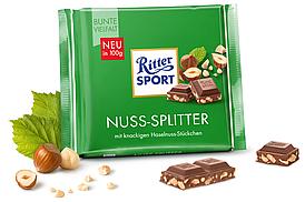 Молочный шоколад Ritter Sport Nuss-Splitter
