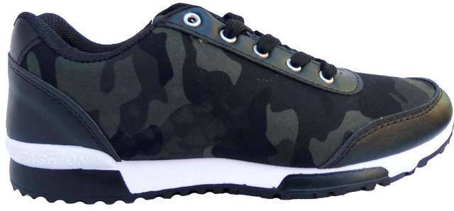 кроссовки защитного цвета