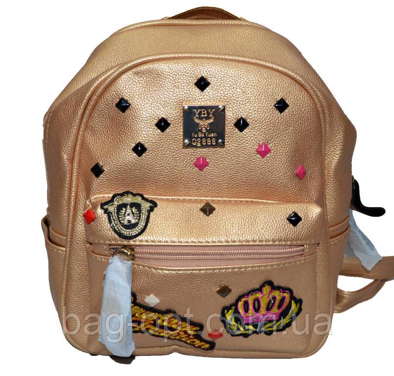 Жіночий рюкзак міський (24x20x12)
