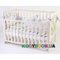 Детская кровать Верес Соня слоновая кость ЛД-13 (13.1.1.1.04)
