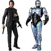 Детальні фото нових фігурок Medicom Toy MAFEX Robocop 2 та John Wick