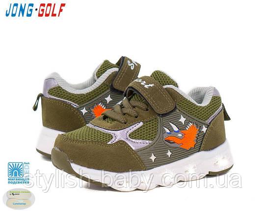 Детская обувь с подсветкой. Детская спортивная обувь бренда Jong Golf для мальчиков (рр. с 26 по 31), фото 2