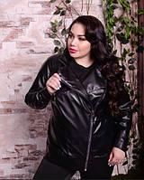 Куртка кожаная косуха, с 48 по 82 размер