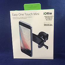 Держатель в авто iOttie Easy One Touch Mini Car Mount Black (HLCRIO124) EAN/UPC: 852306006244
