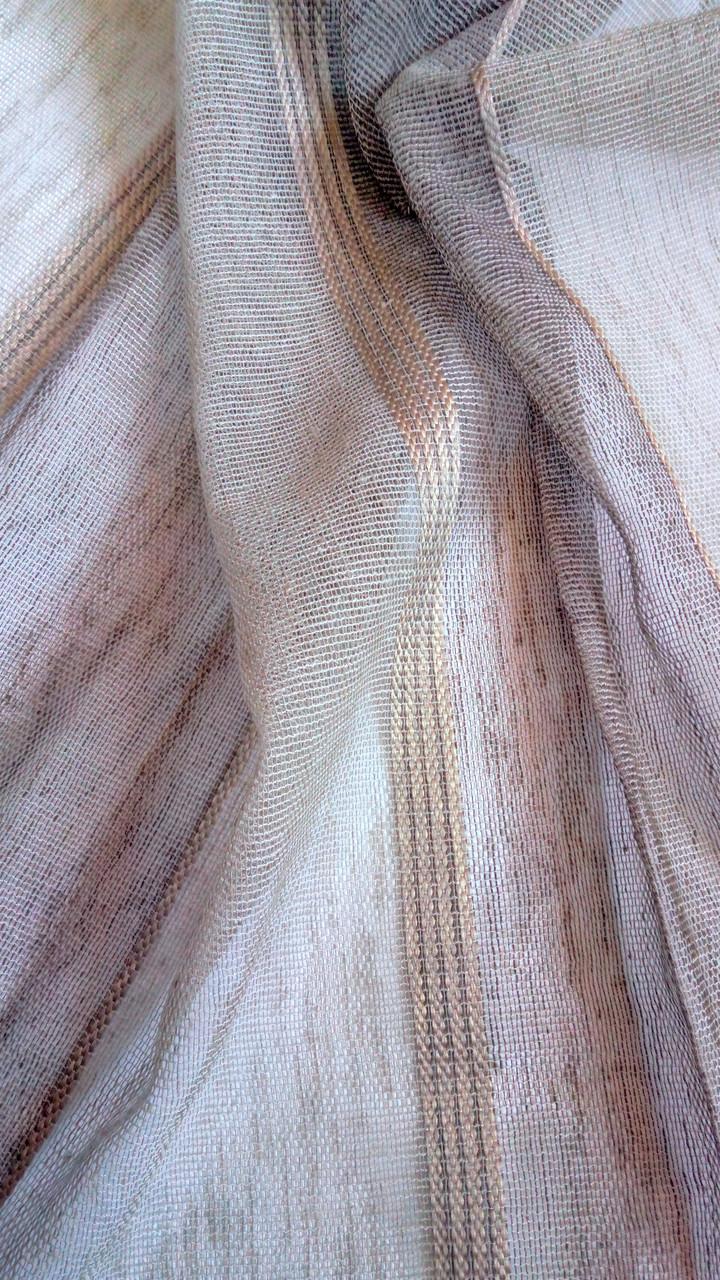 Гардинная ткань под лен 15750 v10