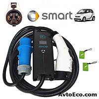 Зарядное устройство для электромобиля Smart Fortwo ED Electric Drive Zencar J1772 32A, фото 1