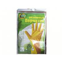 Перчатки резиновые (М)