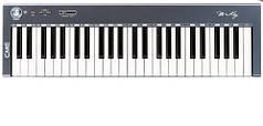 MIDI клавиатуры CME M-KEY Ультратонкая полу-взвешенная MIDI клавиатура на 49 клавиш