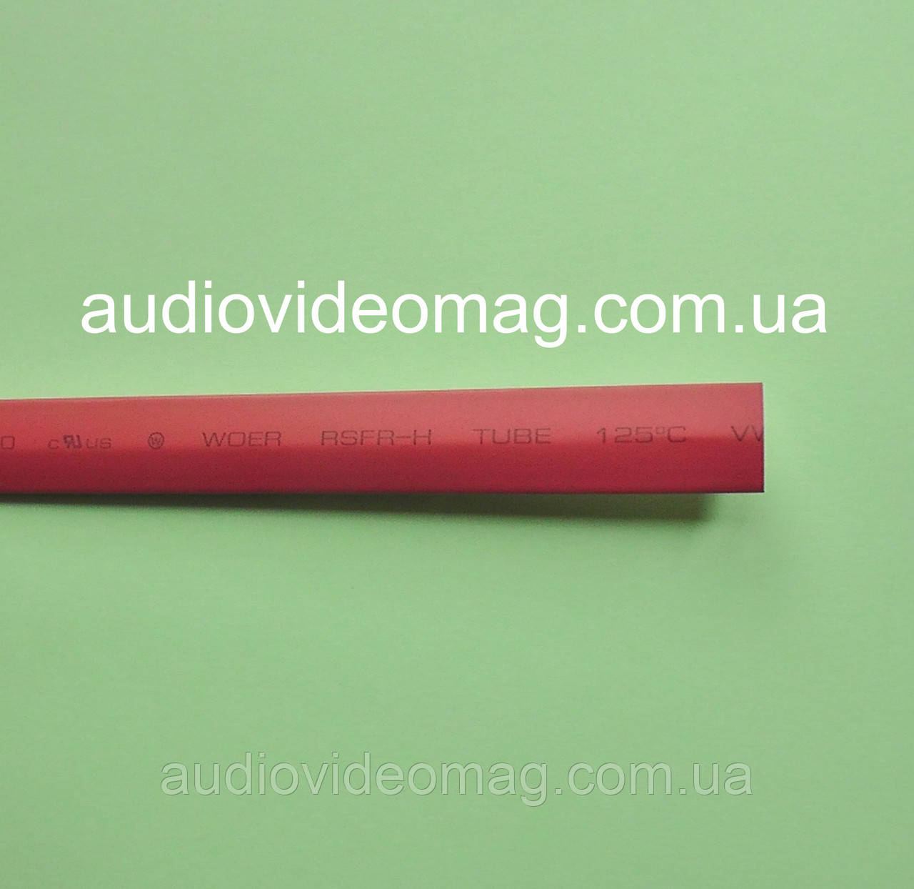 Термоусадочная трубка (2:1) - 8.0/4.0 мм, 1 метр, красная