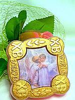 """Натуральное глицериновое мыло """"Христос воскрес"""" №2Мыло с тематикой"""