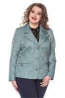 Демисезонная  женская стеганная куртка, размер 50-60, фото 1