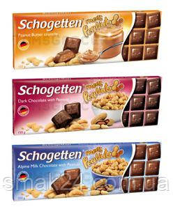 Шоколад  Schogetten  Felix 3 новинки Германия, 150 г