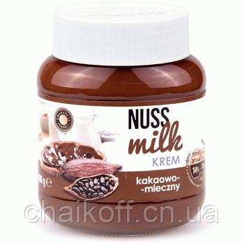 Шоколадная паста со вкусом какао бобов Nuss Milk Krem 400g