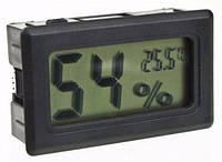 Гигрометр, термометр цифровой (Черный)