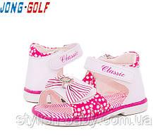 Детская обувь оптом. Летняя обувь 2018. Детские босоножки бренда Jong Golf для девочек (рр. с 22 по 27)
