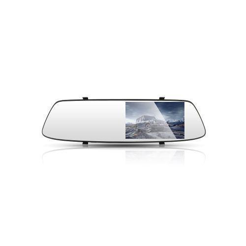 Зеркало заднего вида с видеорегистратором DVR FullHD 1080p A23 c 2мя камерами