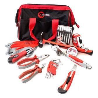 """Набір ручного інструменту """"Домашній помічник"""" INTERTOOL BX-1000 (25 одиниць), фото 2"""