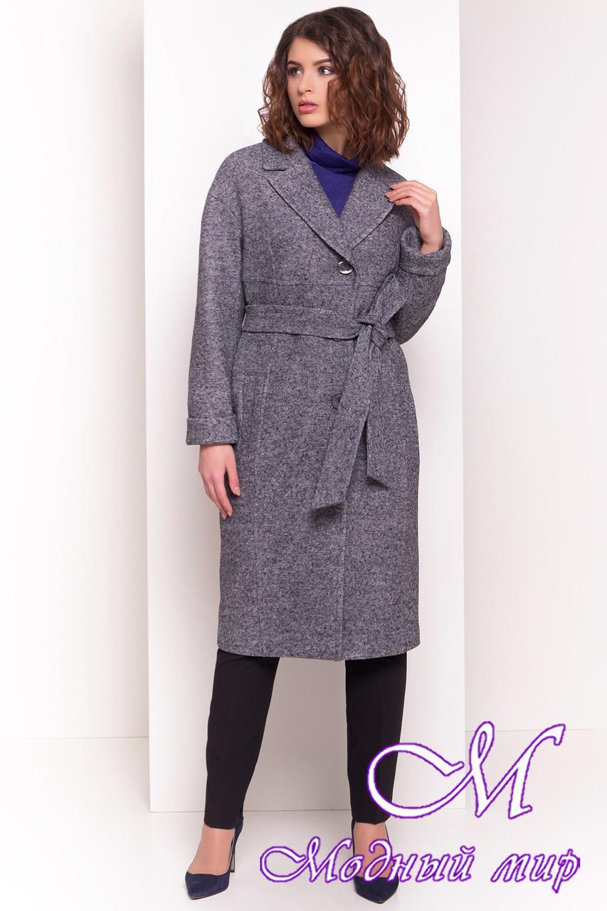 Женское стильное демисезонное пальто (р. S, M, L) арт. Джани 4676 - 34074