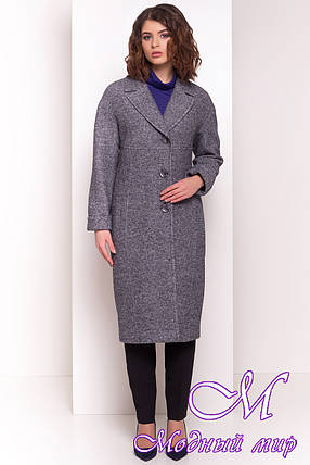 Женское стильное демисезонное пальто (р. S, M, L) арт. Джани 4676 - 34074, фото 2