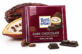 Темный шоколад Ritter Sport Dark Chocolate