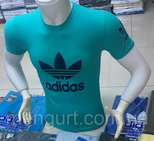 Футболка мужская молодежная adidas адидас Турция, фото 2