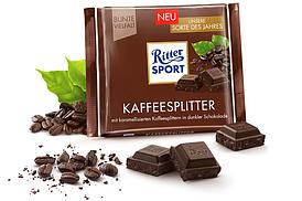 Темный шоколад Ritter Sport Kaffesplitter