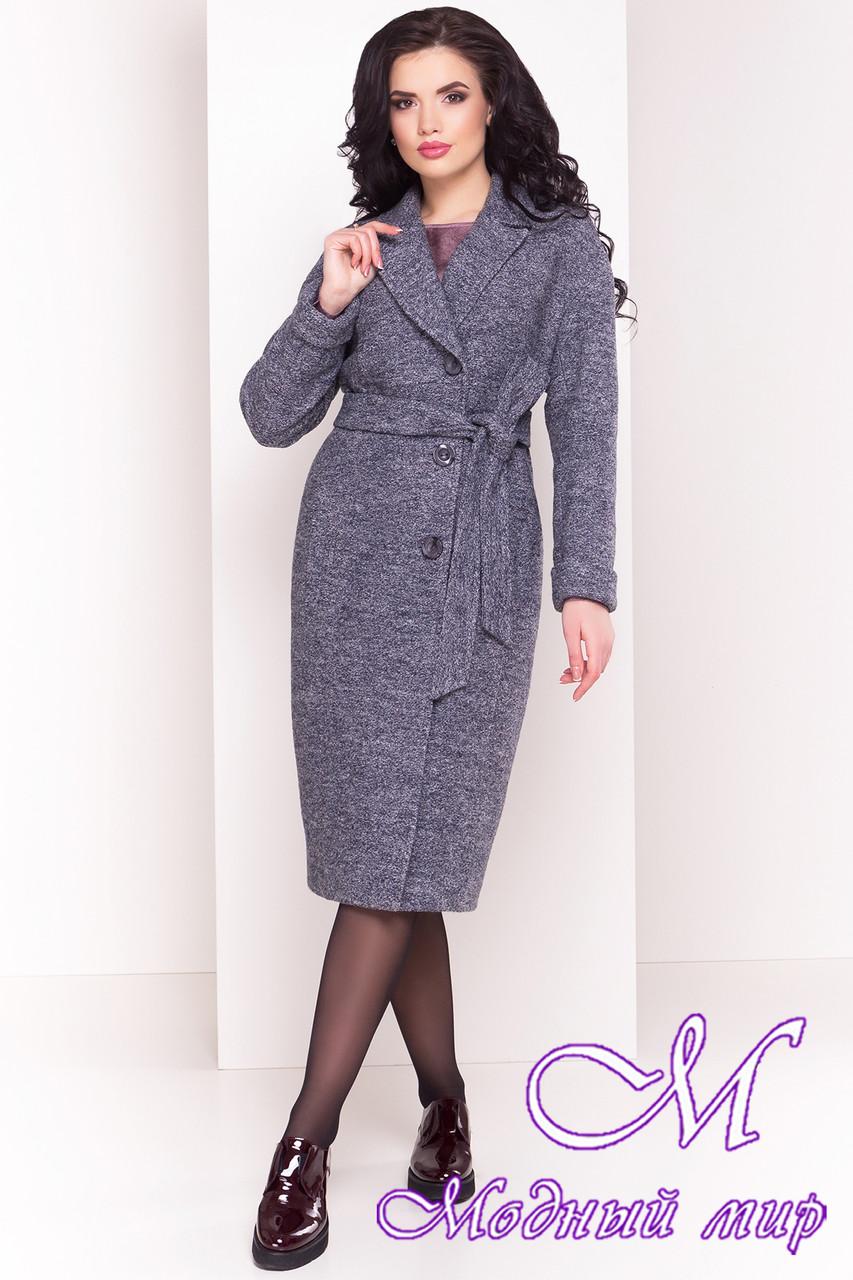 Удлиненное женское демисезонное пальто (р. S, M, L) арт. Джани 4676 - 33770