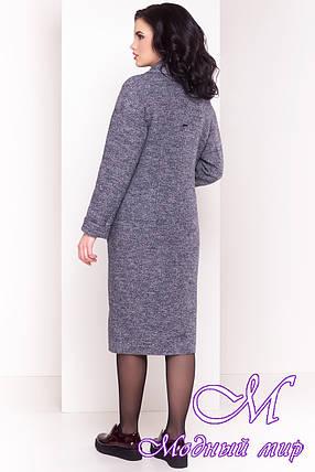 Удлиненное женское демисезонное пальто (р. S, M, L) арт. Джани 4676 - 33770, фото 2