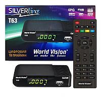 World Vision T63 DVB-T2 Тюнер Т2, фото 1