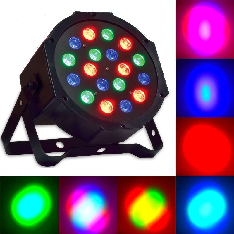 Прожекторы для дискотеки Флешка+пульт, фото 1