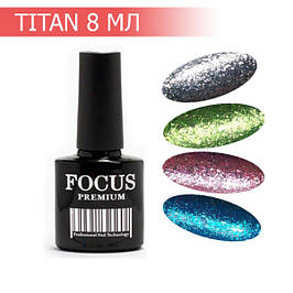 """FOCUS Premium """"Titan"""" гель-лак, 8 мл"""