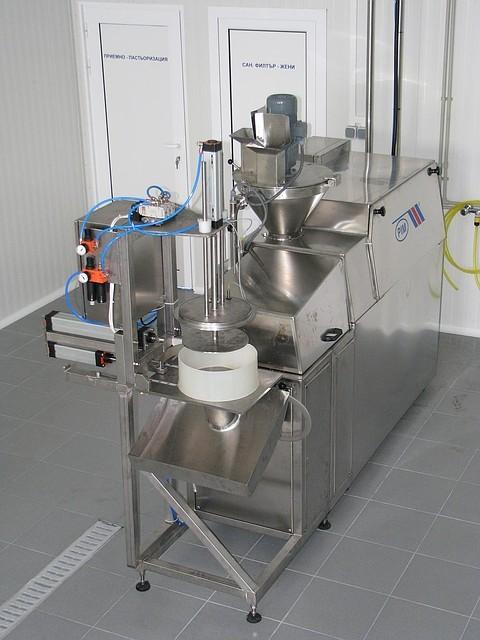 Агрегат для термомеханической обработки сырной массы, чеддеризатор - Лакта-Сервис в Днепре