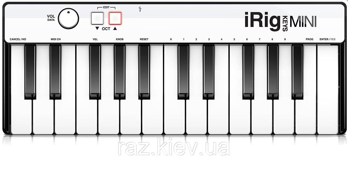 MIDI клавиатуры IK MULTIMEDIA iRig Keys Mini
