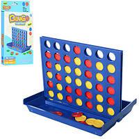 Настольная игра Bingo, игровое поле, фишки, 2 цвета, кор. 15,5*25*3см (192шт)(223)