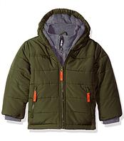 Зимняя куртка Rothschild (США) оливковая для мальчика от 3 до 7 лет